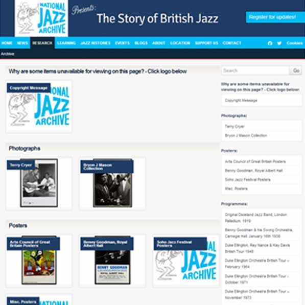 National Jazz Archive