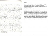 Example Of Our Transcription Service