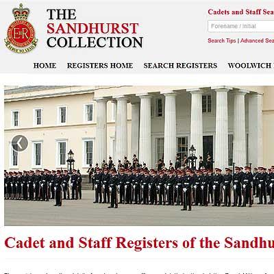 Sandhurst Military Academy Online Archive