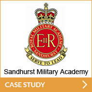 Sandhurst Military Academy - Case Study