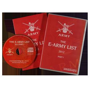 E-Army List 2012