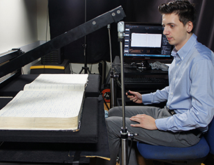Burial record digitisation