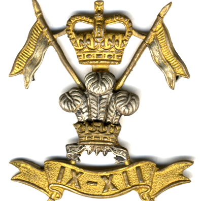 Digitised 9th/12th Royal Lancers emblem