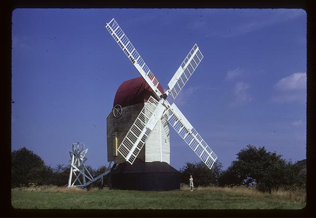 Digitised slide: Argos Hill Mill - Mayfield