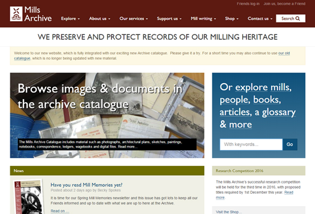 Mills Archive digital archive