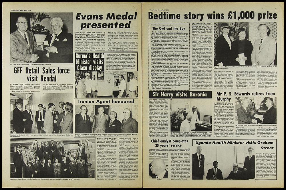 Digitised newspaper page