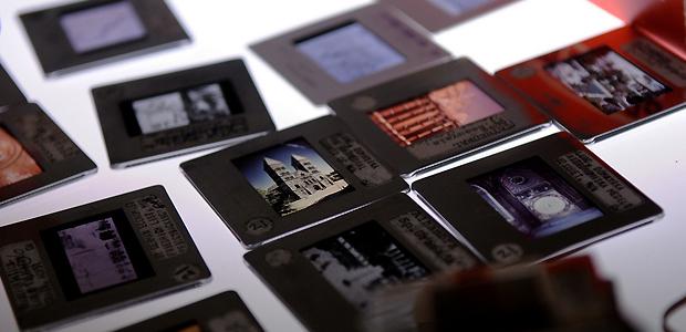 Preparing 35mm slides