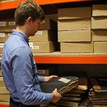 Preparing materials for digitisation