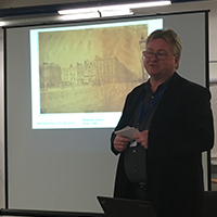 Adrian Autton of Westminster Archives presenting at Digitising your Photographic Collections