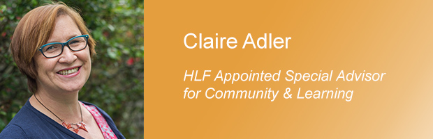 Claire Adler - Putting together a successful HLF bid: essential tips