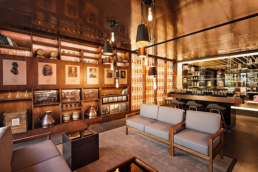 Diageo Johnnie Walker House - Shanghai - feat digitised heritage material