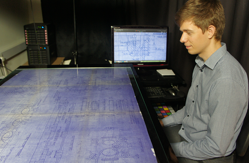 digitising_large_blueprints_with_correct_equipment