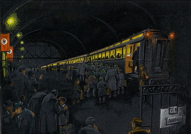 train-station-painting