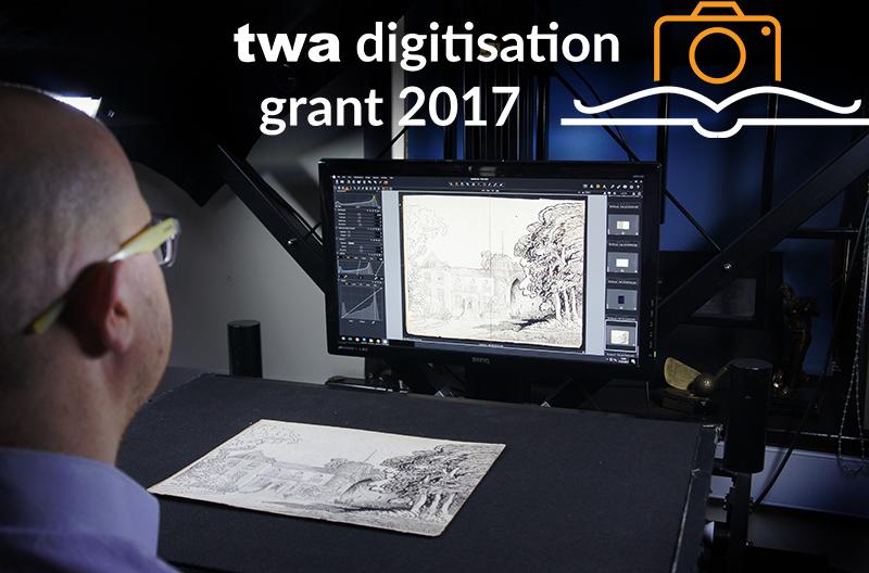 Technician_digitising_archival_drawings_TWA_Grant_2017