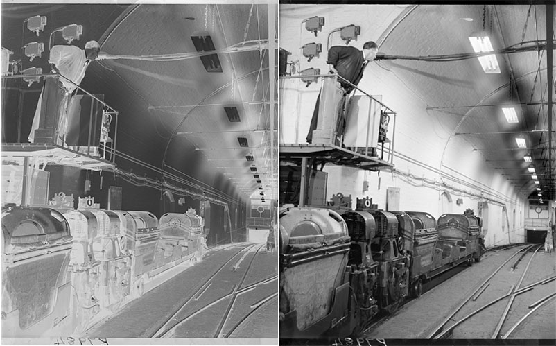Glass_plate_negative_before_after_inversion_to_positive