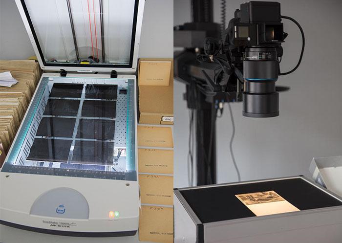 Workflows-digitising-glass-plates-scanner-dslr-camera