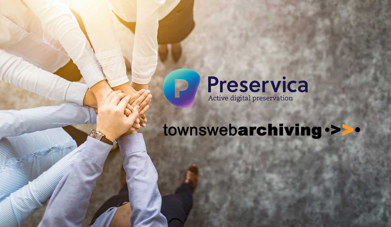 Preservica and TownsWeb Archiving partner on digitisation and preservation