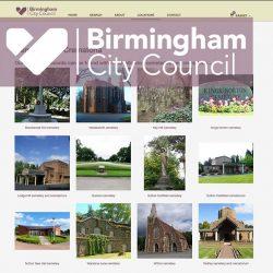 Birmingham City Council Website